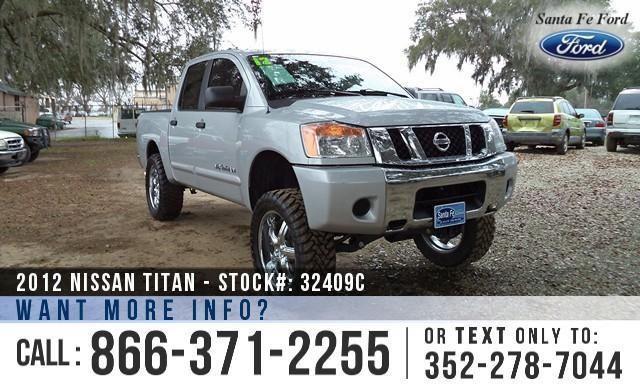 2012 Nissan Titan SV - Warranty - Tow Hooks