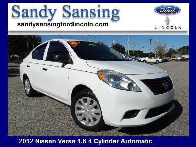 2012 Nissan Versa 1.6 S 1.6 S 4dr Sedan CVT