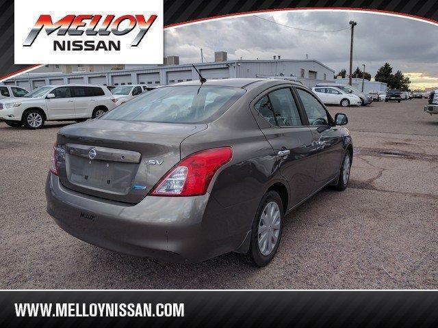 2012 Nissan Versa 1.6 SV 1.6 SV 4dr Sedan