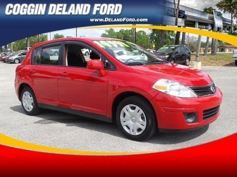 2012 NISSAN VERSA 4 DOOR HATCHBACK