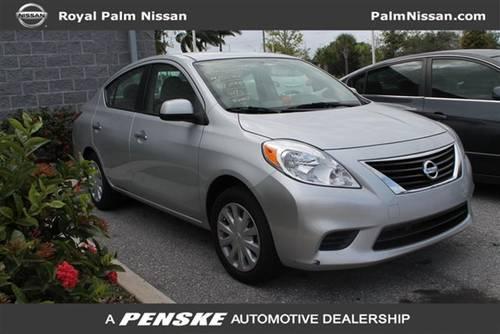 2012 nissan versa sedan 4dr sdn cvt 1 6 sv sedan for sale in west palm beach florida classified. Black Bedroom Furniture Sets. Home Design Ideas