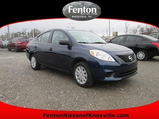 2012 nissan versa sedan s for sale in knoxville tennessee classified. Black Bedroom Furniture Sets. Home Design Ideas