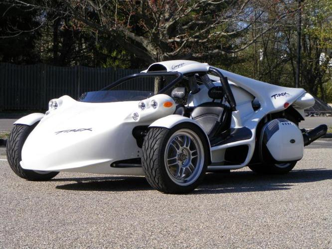 2012 Pearl White Campagna TRex 1400R for Sale in Newark ...