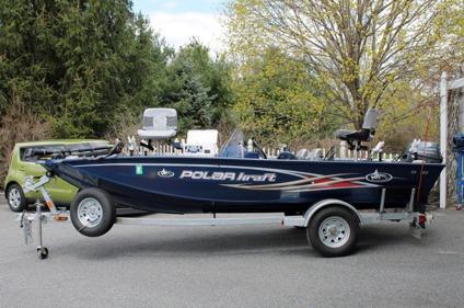 2012 polar kraft tx 165 bass boat trailer and for 16 foot aluminum boat motor size