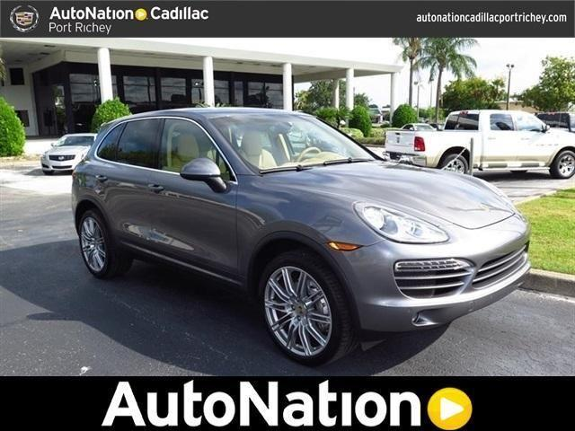 2012 porsche cayenne for sale in port richey florida classified. Black Bedroom Furniture Sets. Home Design Ideas