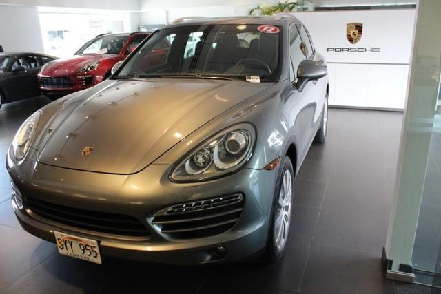 2012 porsche cayenne base awd 4dr suv for sale in honolulu hawaii classified. Black Bedroom Furniture Sets. Home Design Ideas