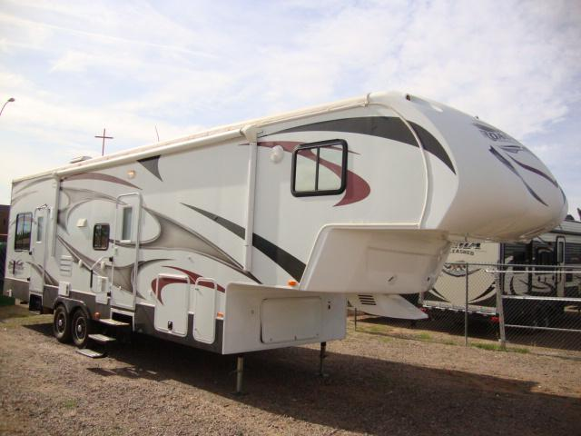 2012 Road Warrior 30C Top Line 5th Wheel Toy Hauler ...
