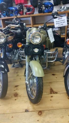 2012 Royal Enfield Bullet Classic Military EFI