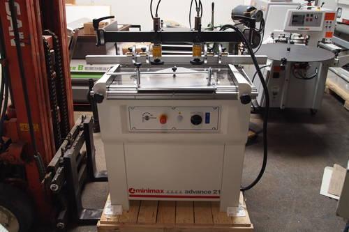 2012 SCM Mini Max Advance 21 - 21 Spindle Line Borer (Boring Machine)