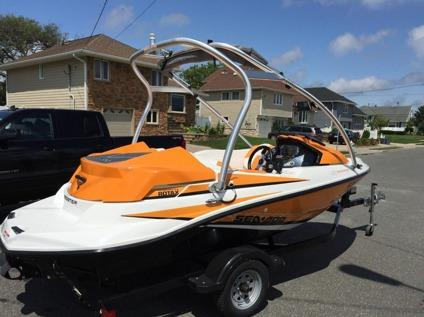 2012 sea doo speedster 150 seadoo jet boat 255 hp wake