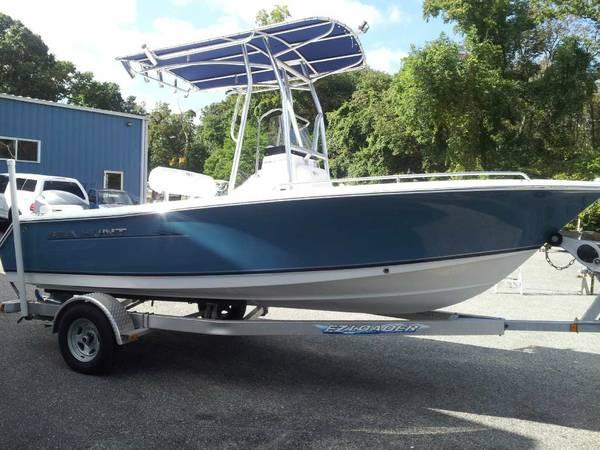 2012 Sea Hunt Triton Center Console - $23999