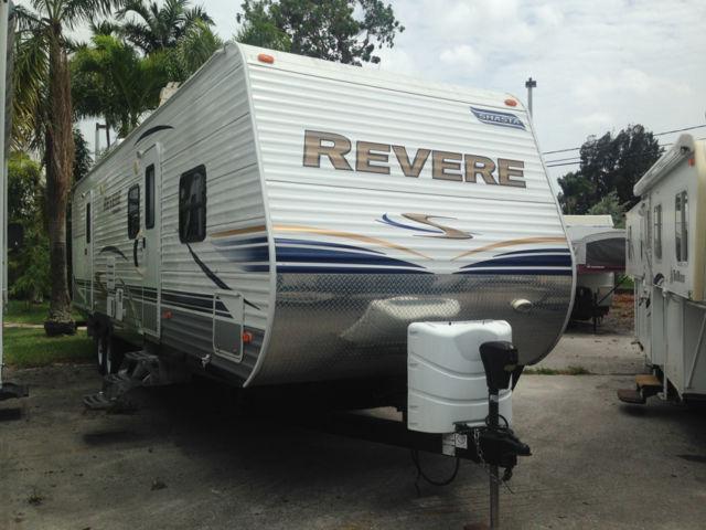 2012 Shasta Revere 32bhds Travel Trailer For Sale In