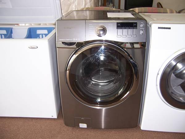 2012 STAINLESS SAMSUNG FRONT LOAD WASHER - $999