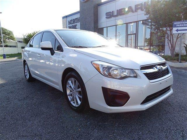 2012 subaru impreza premium awd premium 4dr sedan 5m for sale in san antonio texas. Black Bedroom Furniture Sets. Home Design Ideas
