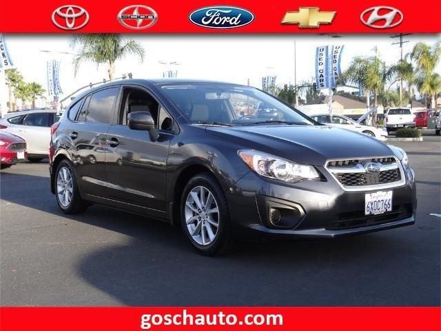 2012 subaru impreza premium awd premium 4dr wagon cvt for sale in hemet california. Black Bedroom Furniture Sets. Home Design Ideas