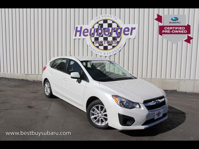 2012 Subaru Impreza 2.0i Premium AWD 2.0i Premium 4dr