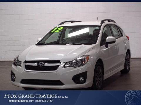 2012 subaru impreza 4 door hatchback for sale in traverse city michigan classified. Black Bedroom Furniture Sets. Home Design Ideas