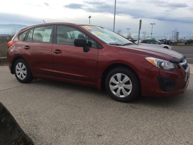 2012 subaru impreza 4dr all wheel drive hatchback for sale in medford oregon classified. Black Bedroom Furniture Sets. Home Design Ideas