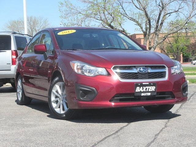 2012 subaru impreza car 4dr auto premium for sale in omaha nebraska classified. Black Bedroom Furniture Sets. Home Design Ideas