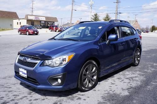 2012 subaru impreza wagon station wagon sport premium for sale in carrollton maryland. Black Bedroom Furniture Sets. Home Design Ideas