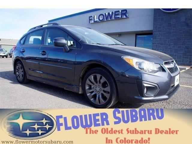2012 subaru impreza wagon station wagon sport premium for sale in colona colorado. Black Bedroom Furniture Sets. Home Design Ideas