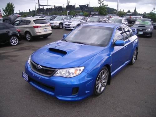 2012 subaru impreza wrx sti 4dr all wheel drive sedan for sale in oregon city oregon classified. Black Bedroom Furniture Sets. Home Design Ideas
