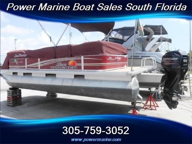 2012 sun tracker marine party barge w full cover under 100 hours