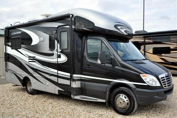 2012 thor motor coach chateau citation sprinter diesel w