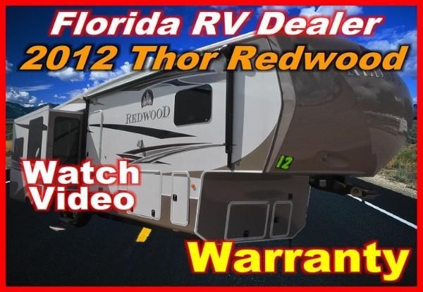 2012 thor motor coach redwood 36fb for sale in port charlotte florida classified. Black Bedroom Furniture Sets. Home Design Ideas