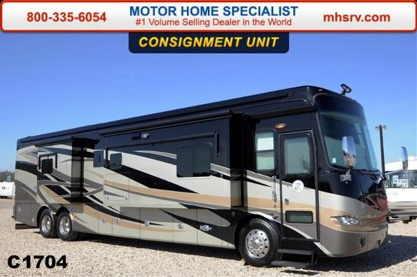 2012 tiffin motorhomes allegro bus bath a half w 4 for Motor home specialist inc alvarado texas