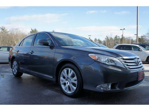 2012 toyota avalon 4 dr sedan limited for sale in raynham. Black Bedroom Furniture Sets. Home Design Ideas