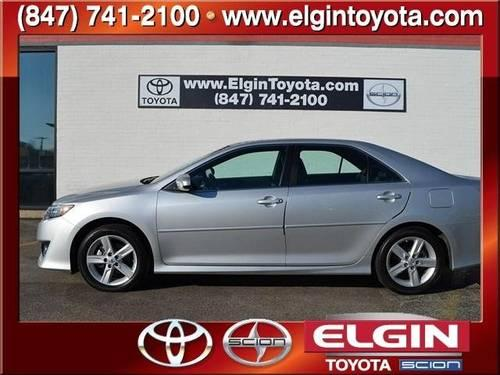 2012 toyota camry 4 door sedan se for sale in elgin illinois classified. Black Bedroom Furniture Sets. Home Design Ideas