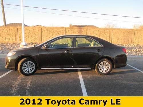 2012 toyota camry 4d sedan le for sale in elkins new mexico classified. Black Bedroom Furniture Sets. Home Design Ideas