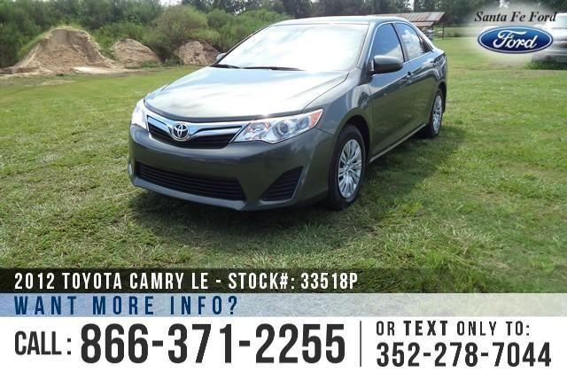 2012 Toyota Camry LE - 31K Miles - Finance Here!
