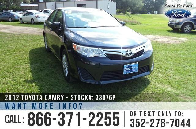 2012 Toyota Camry LE - Touch Screen - Keyless Entry
