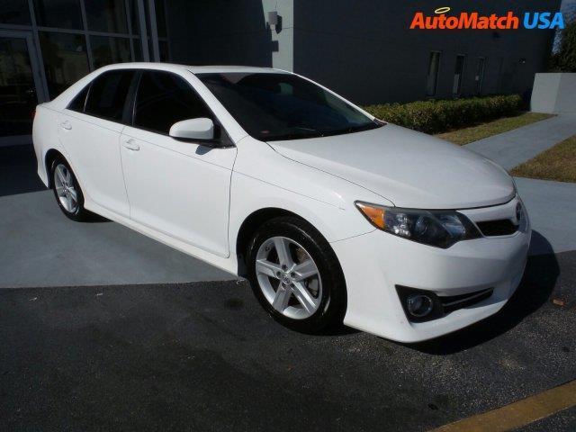 2012 toyota camry se se 4dr sedan for sale in fort myers florida classified. Black Bedroom Furniture Sets. Home Design Ideas