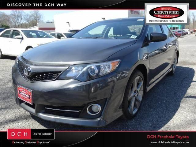 2012 toyota camry se se for sale in east freehold new jersey classified. Black Bedroom Furniture Sets. Home Design Ideas