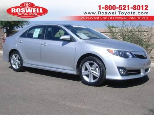 2012 toyota camry sedan se for sale in elkins new mexico classified. Black Bedroom Furniture Sets. Home Design Ideas