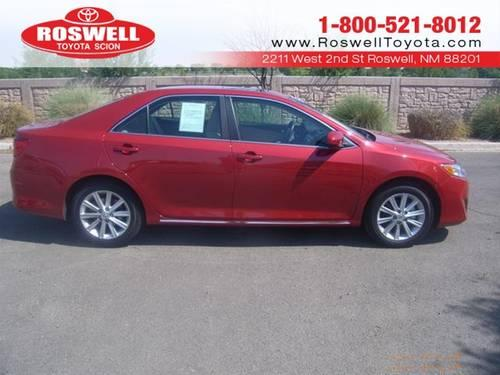 2012 toyota camry sedan xle for sale in elkins new mexico classified. Black Bedroom Furniture Sets. Home Design Ideas