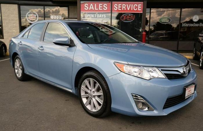 2012 toyota camry xle 4dr sedan sunroof for sale in east greenbush new york classified. Black Bedroom Furniture Sets. Home Design Ideas