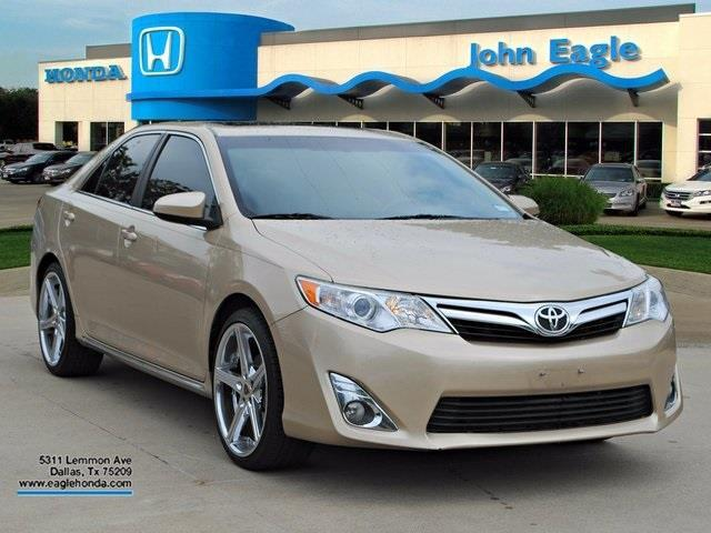 2012 toyota camry xle xle 4dr sedan for sale in dallas texas classified. Black Bedroom Furniture Sets. Home Design Ideas