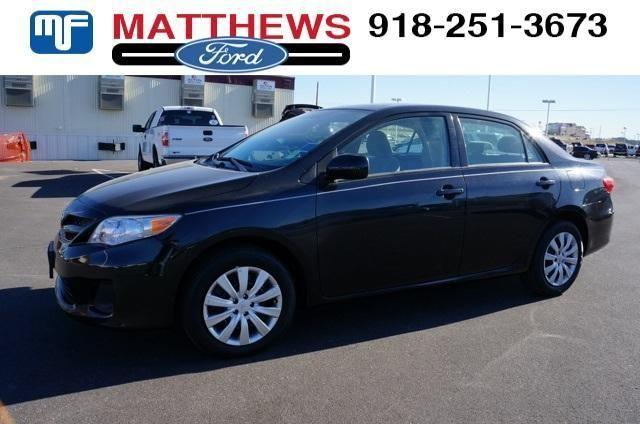 2012 toyota corolla 4dr car le for sale in broken arrow oklahoma classified. Black Bedroom Furniture Sets. Home Design Ideas