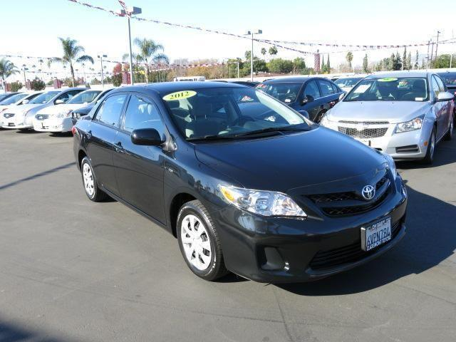2012 toyota corolla 4dr car le for sale in claremont california classified. Black Bedroom Furniture Sets. Home Design Ideas