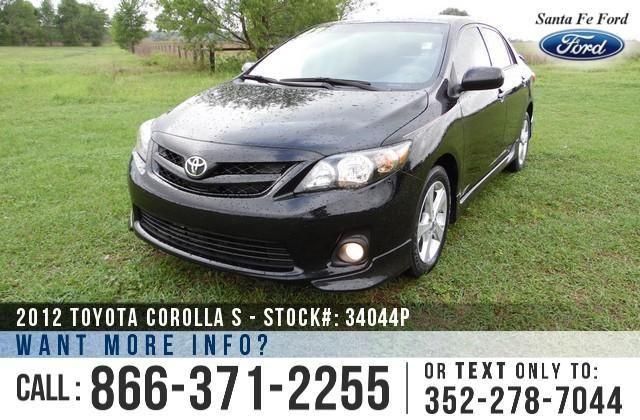 2012 Toyota Corolla S - 10K Miles - On-Site Financing!