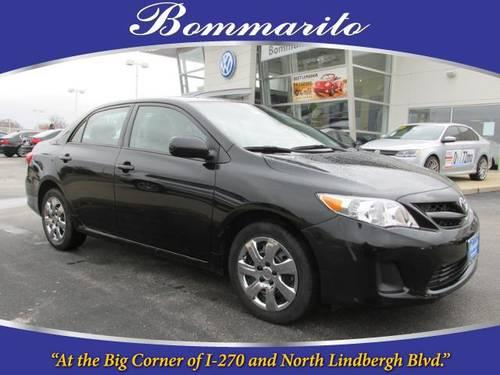 2012 toyota corolla sedan le for sale in staunton illinois classified. Black Bedroom Furniture Sets. Home Design Ideas