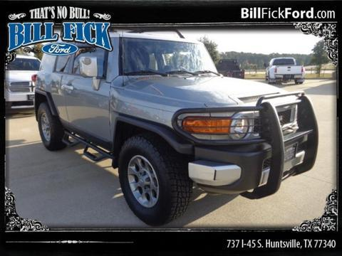 2012 Toyota Fj Cruiser Base Huntsville Tx For Sale In
