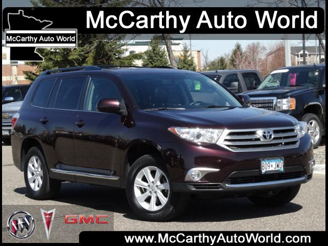 2012 toyota highlander awd base 4dr suv for sale in minneapolis minnesota classified. Black Bedroom Furniture Sets. Home Design Ideas