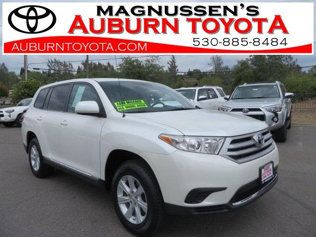 2012 toyota highlander awd base 4dr suv for sale in auburn california classified. Black Bedroom Furniture Sets. Home Design Ideas