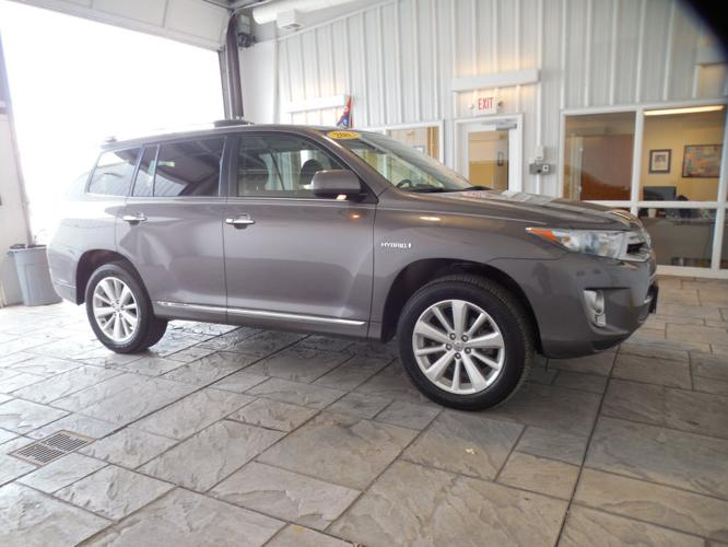 2012 toyota highlander hybrid awd limited 4dr suv for sale in findlay ohio classified. Black Bedroom Furniture Sets. Home Design Ideas