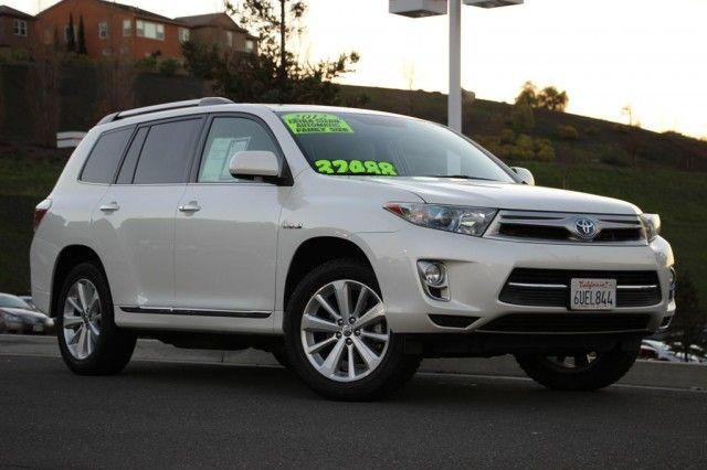 2012 toyota highlander hybrid vallejo ca for sale in vallejo california classified. Black Bedroom Furniture Sets. Home Design Ideas